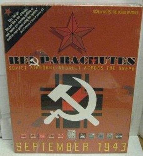 Soviet Press - Avalanche Press 3 Red Parachutes - Soviet Airborne Assault Across the Dnepr