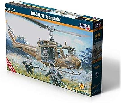 MisterCraft MCD78 1:72 UH-1H/D Iroquois Guerra de Vietnam, Multi ...