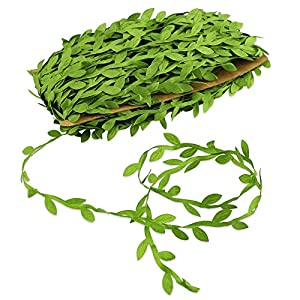 BcPowr 132 Ft Artificial Vines, Artificial Leaf Garlands Simulation Flower Foliage Fake DIY Vine For Party Wedding Home Decor 2