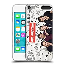 Official One Direction Vintage Group Icon Soft Gel Case for Apple iPod Touch 5G 5th Gen