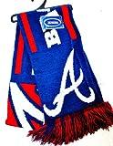 MLB Atlanta Braves Knit MLB official Knit Stripe Jersey Scarf