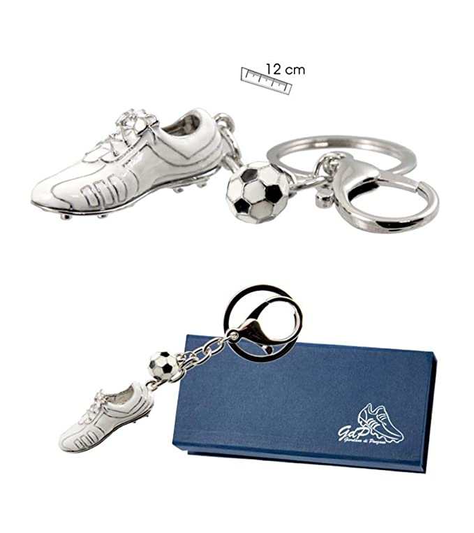 ZiNGS Llavero bota de fútbol del Real Madrid FC