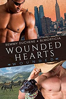 Wounded Hearts by [Duchene, Remmy, BLMorticia]