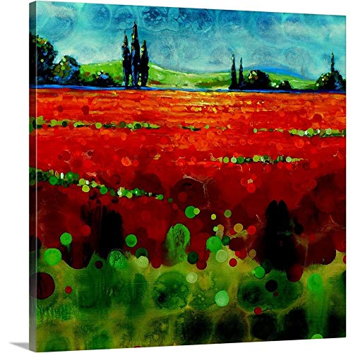 Spring Meadows II Canvas Wall Art Print, - Meadow 2 Canvas