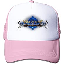 ALLHA Wartune Online Strategy Game Cool Snapback Hat Mesh Adjustable New Cap Pink