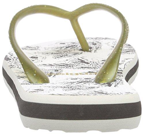 Desigual Shoes_flip Flop 9 - Sandalias de dedo Mujer Negro - Schwarz (2000 NEGRO)