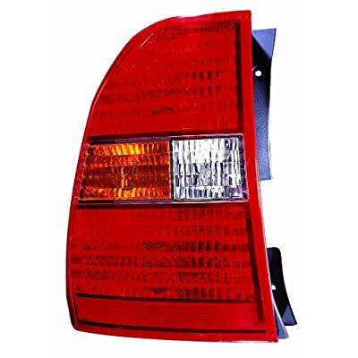 DEPO 323-1919L-AC Replacement Driver Side Tail Light Assembly (This product is an aftermarket product. It is not created or sold by the OE car company): Automotive