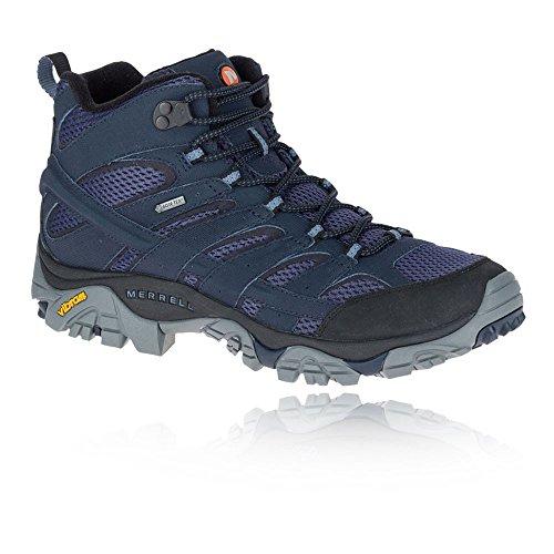 Merrell Moab 2 Mid Gtx Walking Boots Blu Scuro