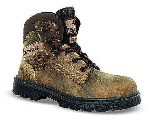 Chaussures de sécurité ICELAND cuir marron - 82016