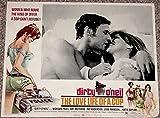 DIRTY O'NEIL LOBBY CARD #5-1974-PILLOW TALK-LOVERS-KISS VG