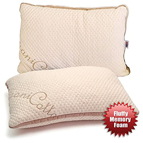 ORGANIC TODDLER PILLOW - Larger Size with