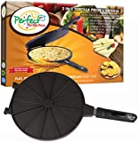 Geoff the Chef Perfect Tortilla Press and Cooker, 2-in-1 Tortilla Maker