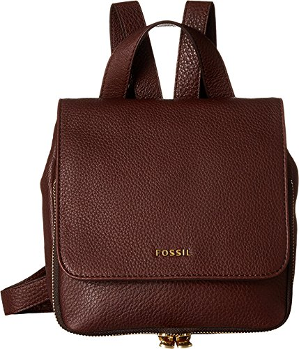 Fossil Preston Mini Backpack, Espresso, One Size
