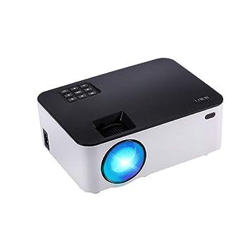 LHR Proyector, Home Led Smart Projector Conexión de teléfono de la ...