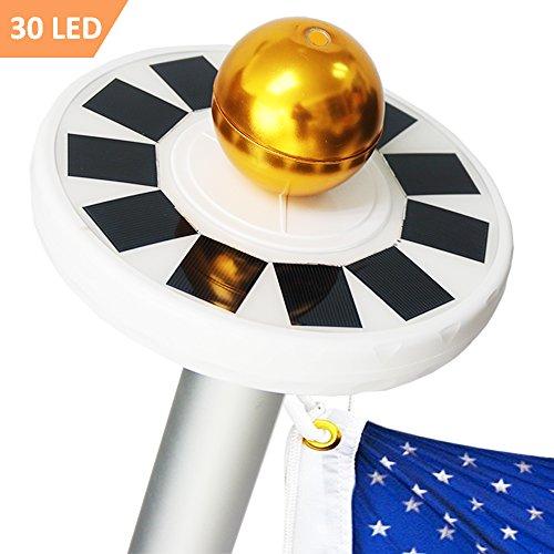 Best Solar Powered Flagpole Light - 3