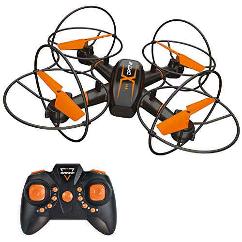 BOBOO RC Drone for Kids,Anti-collision RC Quadcopter with Altitude Hold Mode,One-key Take-off & Landing, 3D Flips and…