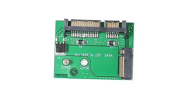 lzndeal Disco SSD NGFF M.2 SSD a SATA3.0 tarjeta convertidor de ...