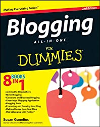 Image of the product Blogging All In One for that is listed on the catalogue brand of Brand: For Dummies.