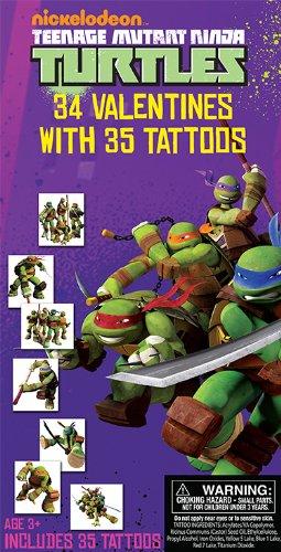 Amazoncom Teenage Mutant Ninja Turtles 34 Valentines Cards with