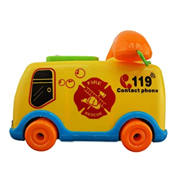 Baby Toys Music Cartoon Bus Phone Educational Developmental Fun Child Toys Gifts