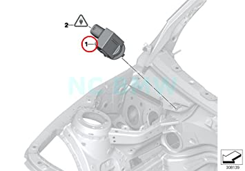 Amazon com: BMW Genuine Sensor F  Auc: Automotive
