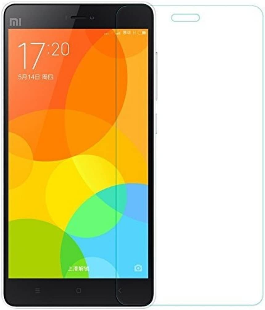 Funnytech_ - Cristal templado para Xiaomi Mi4C. Protector de pantalla transparente para Xiaomi Mi4C. vidrio templado antigolpes (Grosor 0,3mm) – Kit de instalación incluido