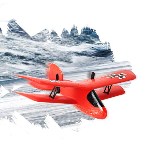 RC Quadcopter, FX-808 LED Light 2.4G Remote Control Double Wings Glider RC Airplane Flying Toy ()