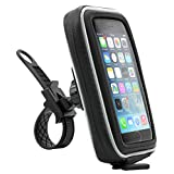 Arkon iPhone 6S 6 Plus 6S 6 5S Samsung Galaxy S6 Smartphone GPS Bike Motorcycle Handlebar Mount with Water Resistant Holder