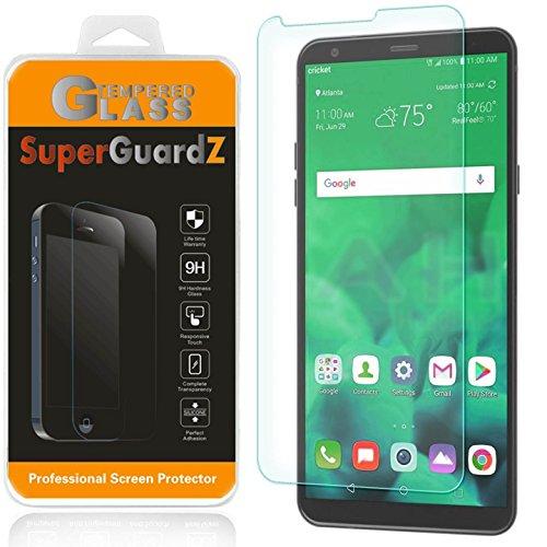 [3-Pack] LG Stylo 4 Screen Protector Tempered Glass, SuperGuardZ, 9H, 0.3mm, Anti-Scratch, Anti-Bubble, Anti-Fingerprint [Lifetime Replacement]