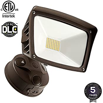 Dusk To Dawn LED Outdoor Flood Light (Photocell Included), 3400lm Ultra