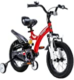 "Royalbaby flybear Dual Suspension freestyle girl's boy's kids children bike bicycle 2 colours, in size 12"", 14"", 16"" with stabilisers."