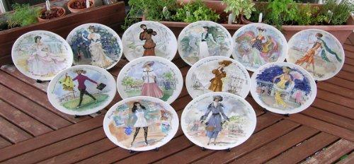 Amazon.com Du0027Arceau-Limoges Women of the Century Collector Plates Home u0026 Kitchen & Amazon.com: Du0027Arceau-Limoges Women of the Century Collector Plates ...