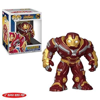 "Funko Pop! Marvel: Avengers Infinity War 6"" Hulk buster Figure, Multicolor: Funko Pop! Marvel:: Toys & Games"