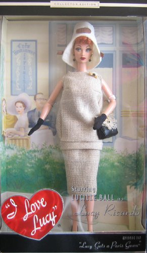 - Barbie LUCY GETS A PARIS GOWN DOLL Episode 147 I Love Lucy - Collector Edition Timeless Treasures (2002)
