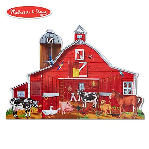 Melissa & Doug Farm Friends 32 pc Floor Puzzle ()