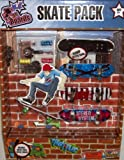Finger Boards Skate Pack (5 Boards and Tools)