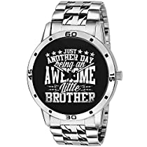 BigOwl Bhaidooj Brother Wrist Watch for Men and Women
