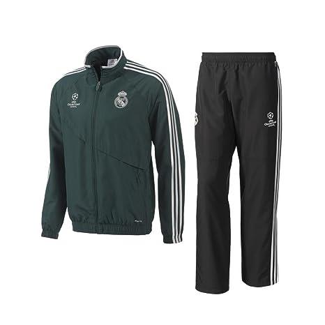 2012 - 13 Real Madrid Adidas UCL Presentación Chándal (Verde ...