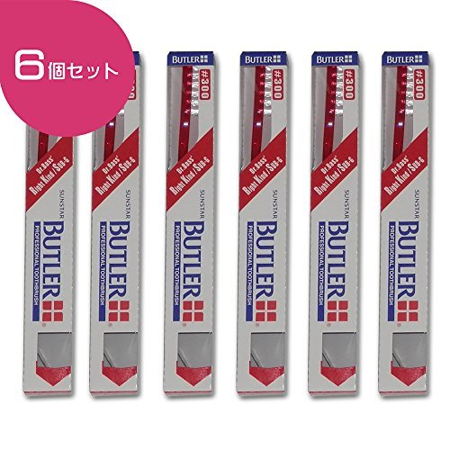 Butler Toothbrush 6 Count #300. Soft brush. For cleaning inflammatory gums.