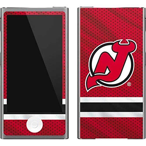 (Skinit NHL New Jersey Devils iPod Nano (7th Gen&2012) Skin - New Jersey Devils Home Jersey Design - Ultra Thin, Lightweight Vinyl Decal Protection )