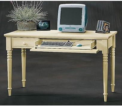 Amazon Com Sauder Harbor View Writing Desk Antiqued White
