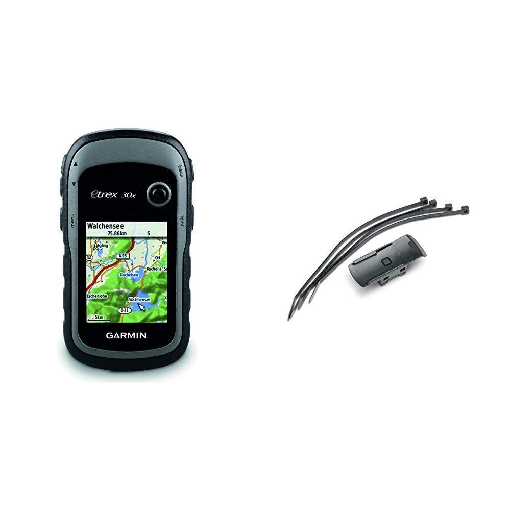 Mappa TopoActive Europa Occidentale Grigio//Nero Schermo 2.2 Altimetro Barometrico Bussola Elettronica Garmin eTrex 30x GPS Portatile