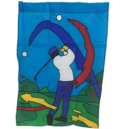 Golf Scene Decorative Outdoor/indoor Flag (Scene Large Mug)