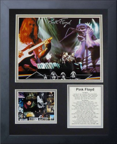 Legends Never Die Pink Floyd Framed Photo Collage, 11x14-Inch