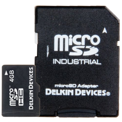 HC Memory Card (DDMICROSDPRO2-4GB) (Delkin Devices Secure Digital Card)