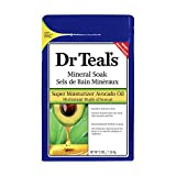 Dr Teal's super moisturizer avocado oil - mineral soak, 1.36 kilogram