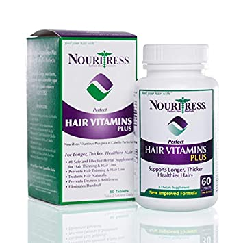 NouriTress Perfect Hair Vitamins Plus 60 tabs