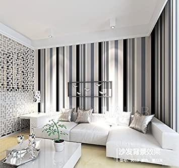 Lzhenjiang Wandbilder Nicht Selbstklebende Schwarz-Weiß-Grau ...