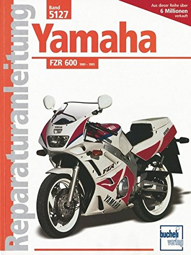Used, Yamaha FZR 600 ab Baujahr 1989. Handbuch fÃŒr Pflege, for sale  Delivered anywhere in Canada