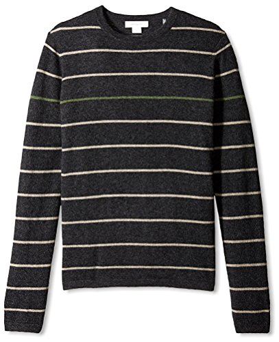christopher-fischer-mens-stripe-crew-neck-cashmere-sweater-charcoal-l
